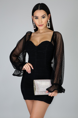 Party Ruched Dress