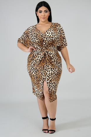 Fierce Twist Body-Con Dress