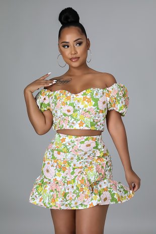 Butterfly Wishes Skirt Set