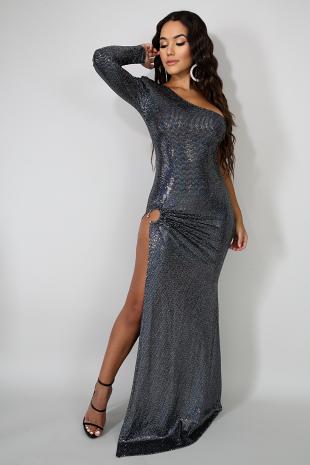 Glam Specks Mermaid Dress