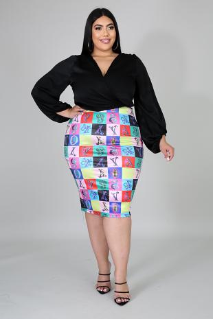 Ace Midi Skirt