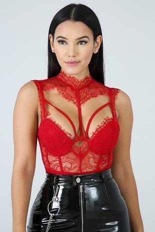 Divine Lace Bodysuit