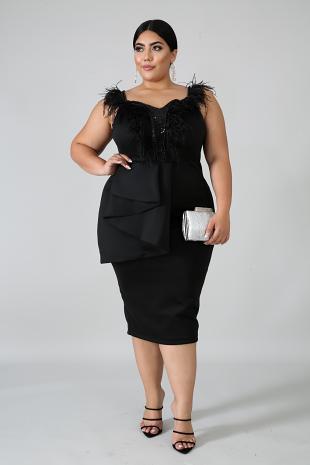Mardigrass Body-Con Dress
