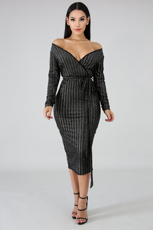 All Night Long Body-Con Dress