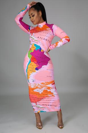 Around The World Dress
