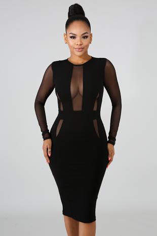 Classy Body-Con Dress