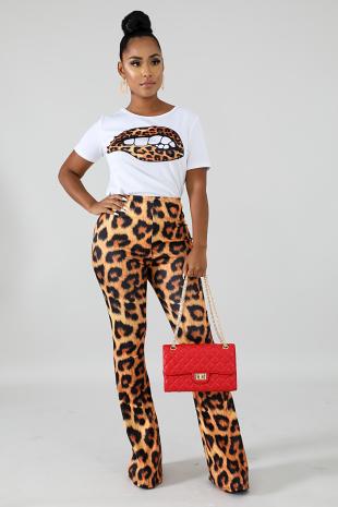 Cheetah Lips Set