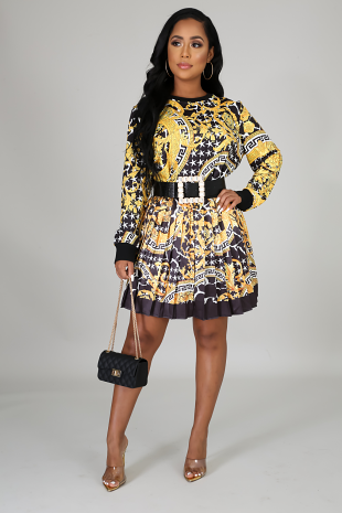 Living The Golden Life Skirt Set