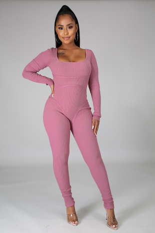Falling For You Jumpsuit