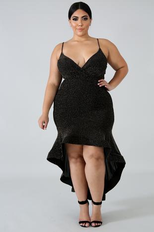 Shimmer Swirl Dress