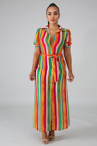 Cali Fresh Long Dress