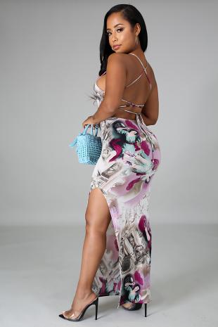 Roman Goddess Dress