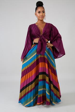 Violeta Maxi Skirt Set
