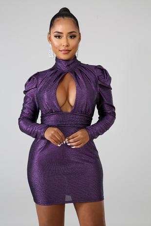 Hollywood Vibes Mini Dress
