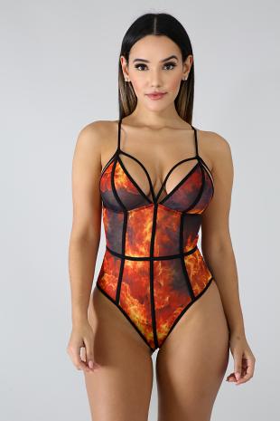 Fire Bodysuit