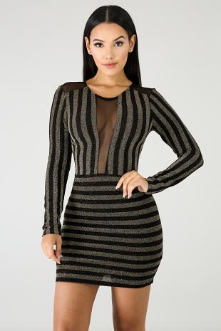 Prime Time Body-Con Dress