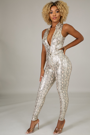 Get You Shined Bodysuit Set