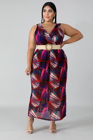 Mesmerize Maxi Dress