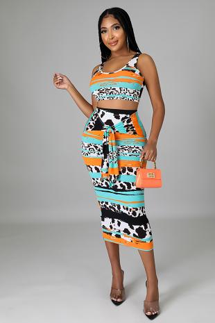 Kaitlyn Skirt Set
