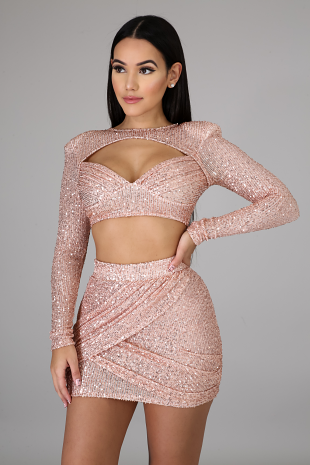 Came To Shine Skirt Set