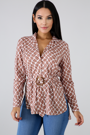 Square Tunic Top