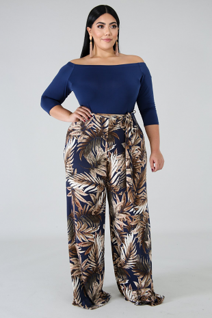 Exotic Palms Jumpsuit
