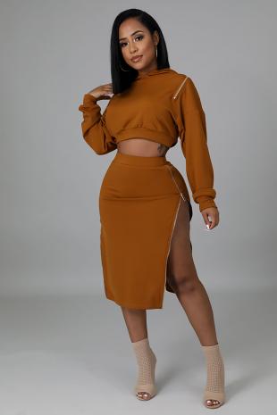 Avisha Skirt Set