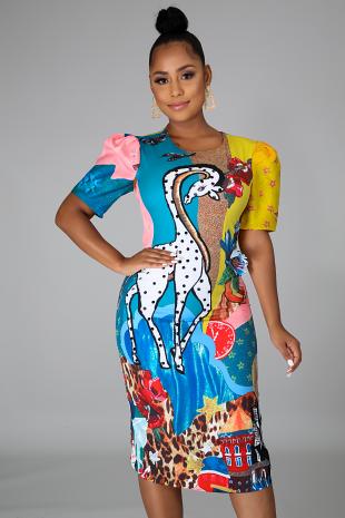 Wild Fantasies Dress