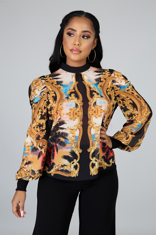 Royal Paradise Top
