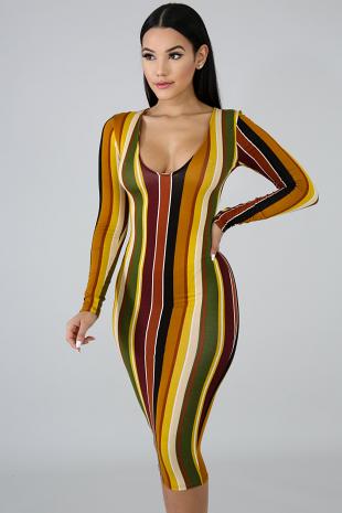 New Seasons Midi Dress