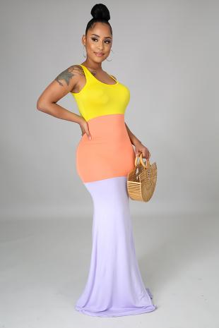 Spring Dress Lilac
