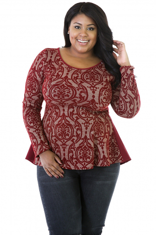 Holiday Blouse Top