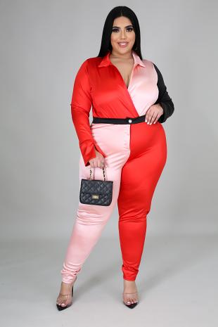 Trixie Bodysuit Pant Set