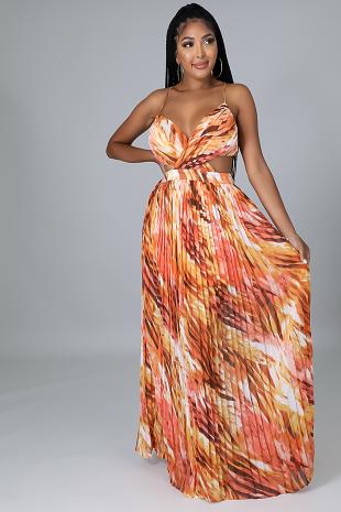 Safari Sunsets Dress