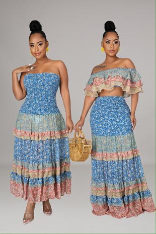 Elora Skirt Set