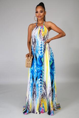 Artistic Maxi Dress