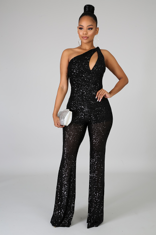 Sequin Doll Jumpsuit