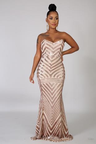 Graceful Mermaid Dress