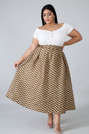 Pleat Yourself Skirt