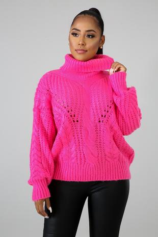 Winter Blue Sweater