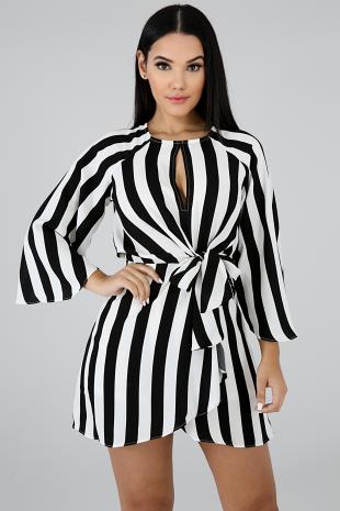 Pin Up Stripe Dress
