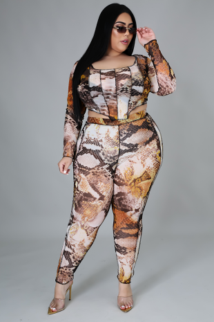 You Are Wild Pant Set
