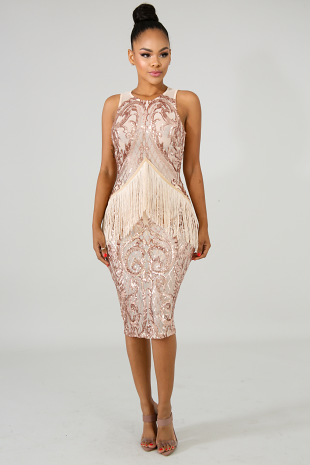 Cabaret Body-Con Dress