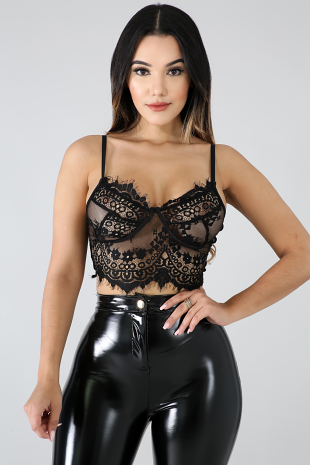 Sexy Lace Top