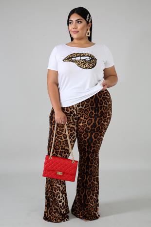 Cheetah Palazzo Set