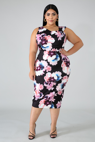 Floral Blooming Dress