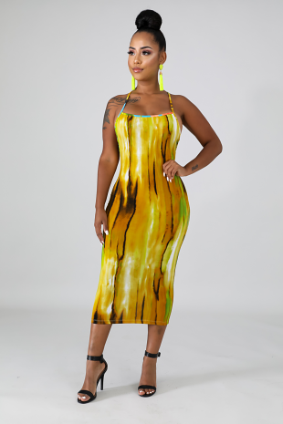 Curvy Girl Midi Dress