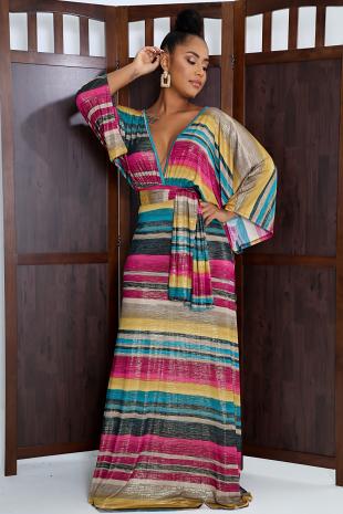Kimono Maxi Dress