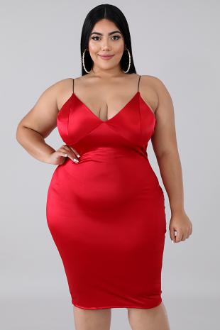 Sensual Body-Con Dress