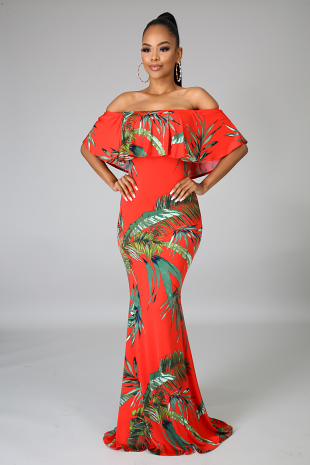 Honolulu Mermaid Dress